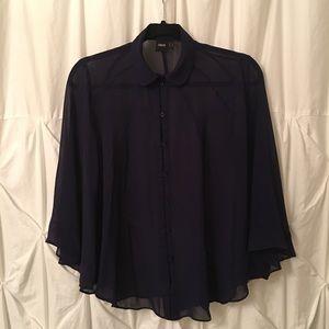 ASOS blue blouse size 2.